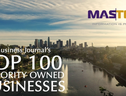 MasTek, Inc. Ranked as a Top 100 Los Angeles Minority-Owned Business